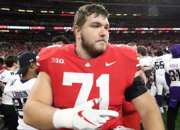 Josh Myers Ohio State Football Buckeyes