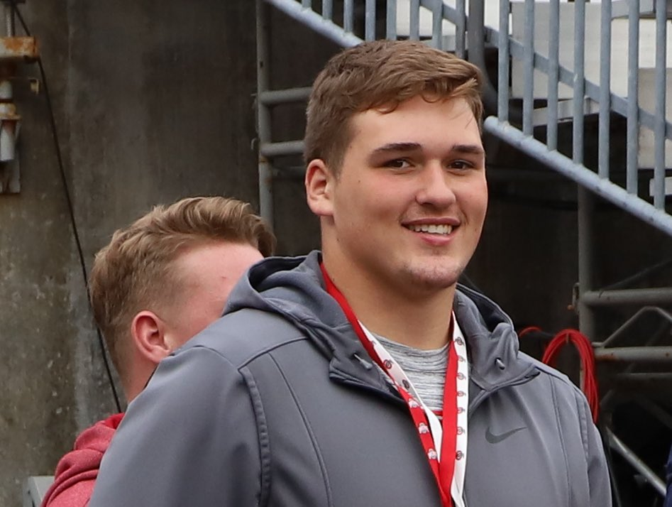 Ohio State offensive lineman Ryan Jacoby
