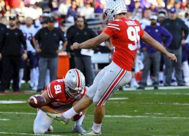 Ohio State Buckeyes football Blake Haubeil Rose Bowl