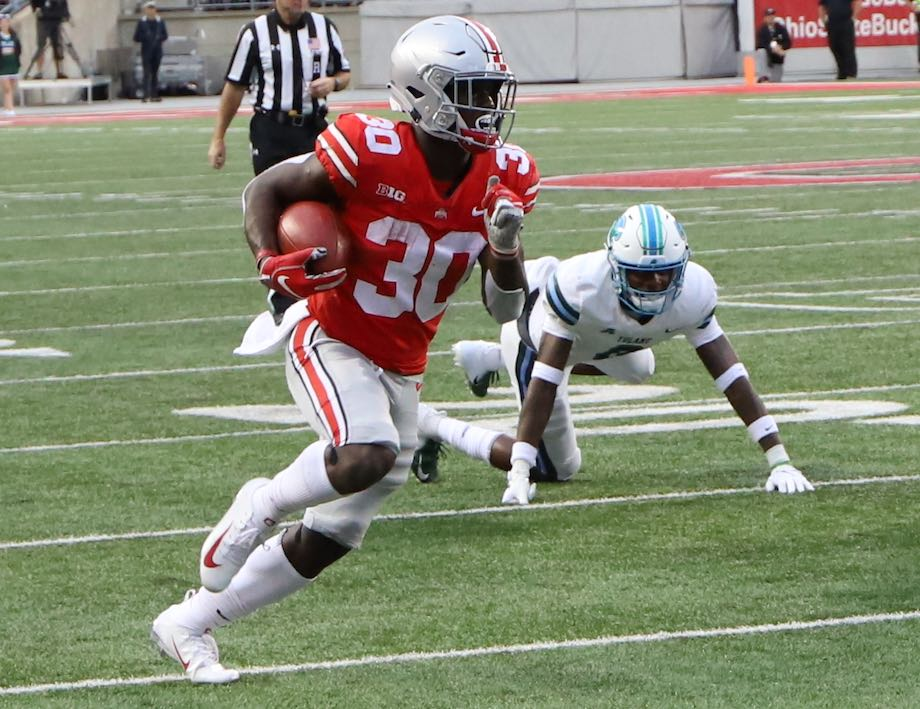 Ohio State Buckeyes football Demario McCall