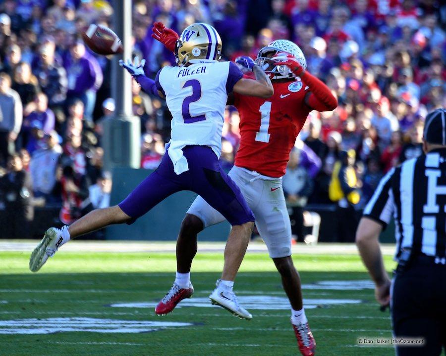 Ohio State Buckeyes Football Jeff Okudah Rose Bowl
