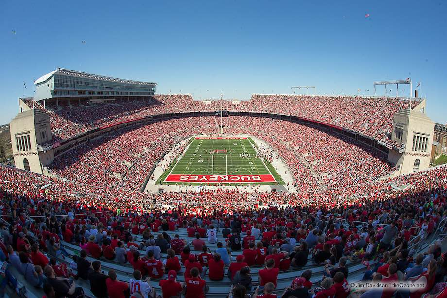 Ohio Stadium Spring Game Crowd 2019 Ohio State Spring Game