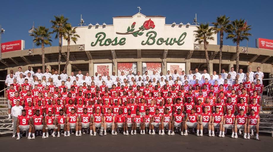 Ohio State Buckeyes 2019 Rose Bowl Team Photo