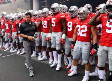 Ohio State Buckeyes football head coach Ryan Day