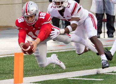 Ohio State quarterback Tathan Martell