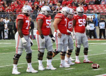 Ohio State Buckeyes football Nick Petit-Frere Wyatt Davis Josh Myers Gavin Cupp Josh Alabi