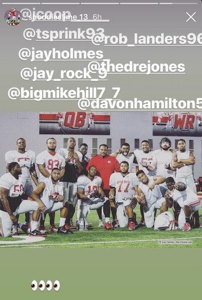 Ohio State Buckeyes football Rashod Berry Instagram