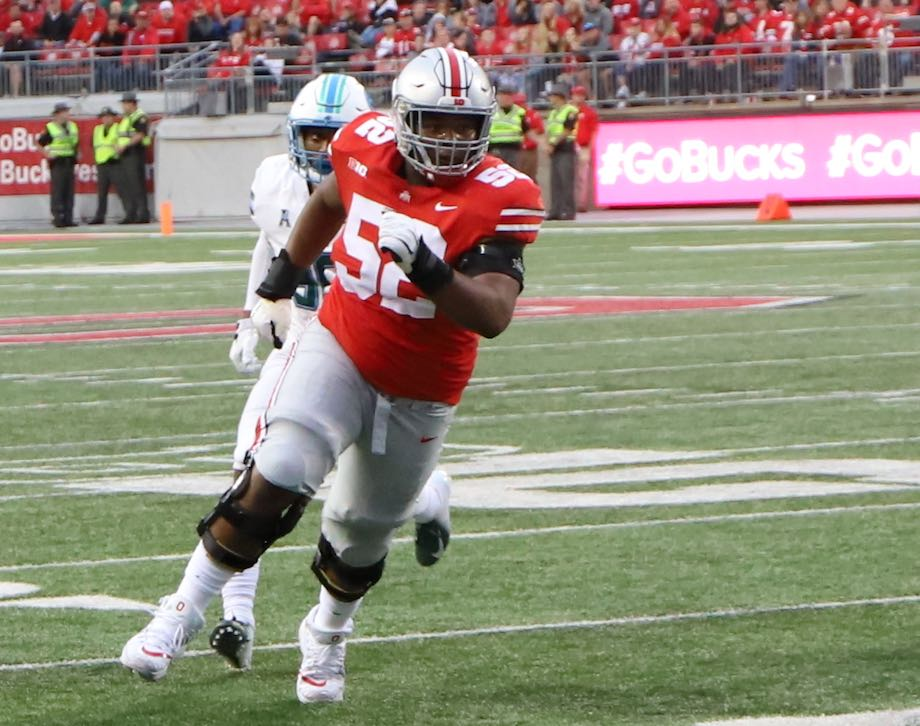 Ohio State Buckeyes football Wyatt Davis