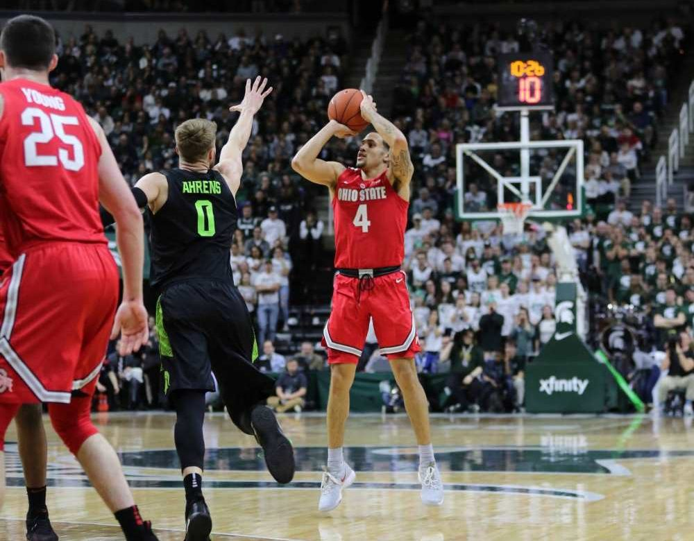 Upset Alert: Ohio State Is Leading No. 11 Michigan State