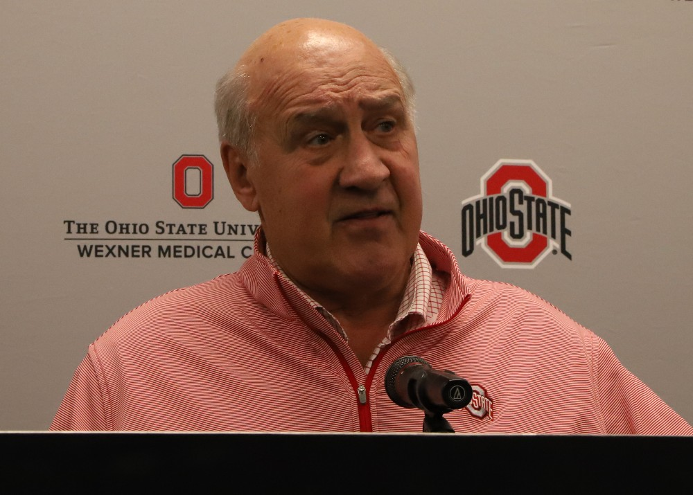 Ohio State Buckeyes football defensive coordinator Greg Mattison