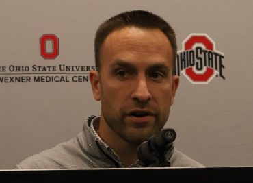 Ohio State Buckeyes football defensive coordinator Jeff Hafley