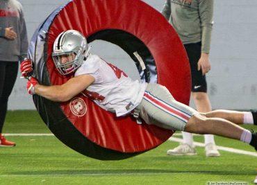 Ben Schmiesing Ohio State Football Buckeyes Linebacker