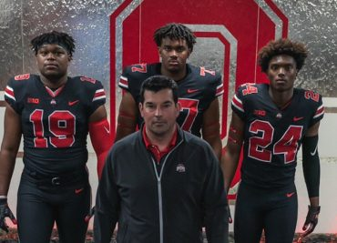 Ohio State football recruiting Darrion Henry Paris Johnson Jaheim Thomas Ryan Day