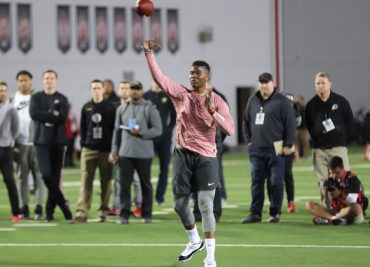 Dwayne Haskins 2019 Ohio State football Pro Day