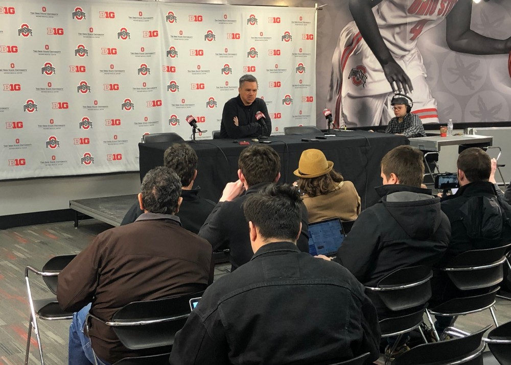 Ohio State basketball press conference