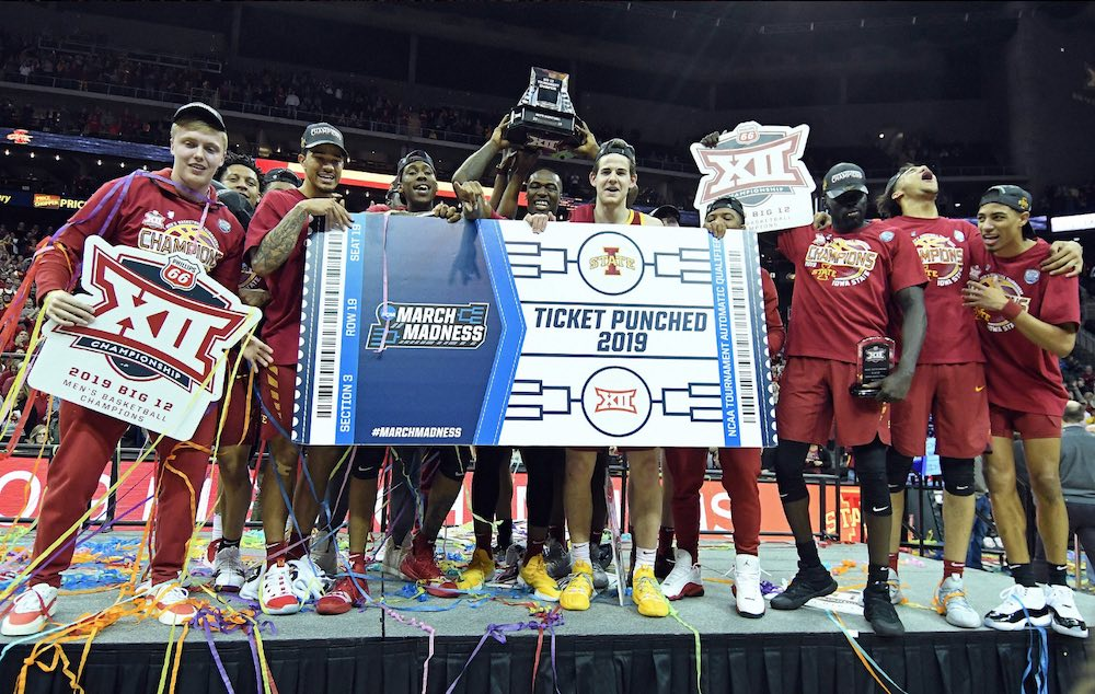 Iowa State basketball Cyclones Ohio State Buckeyes NCAA Tournament