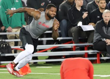 Mike Weber Ohio State Football Pro Day