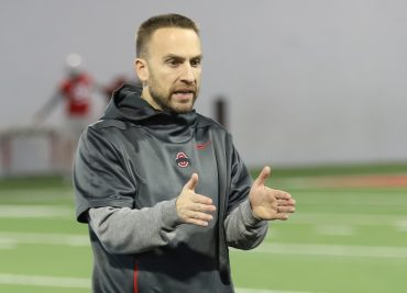 Ohio State Buckeyes football defensive coordinator Jeff Hafley