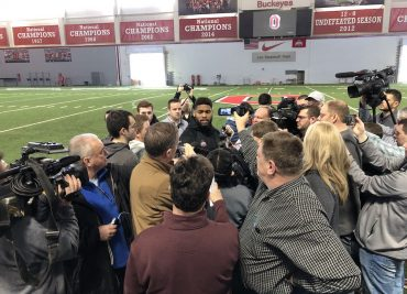Ohio State Buckeyes football interviews