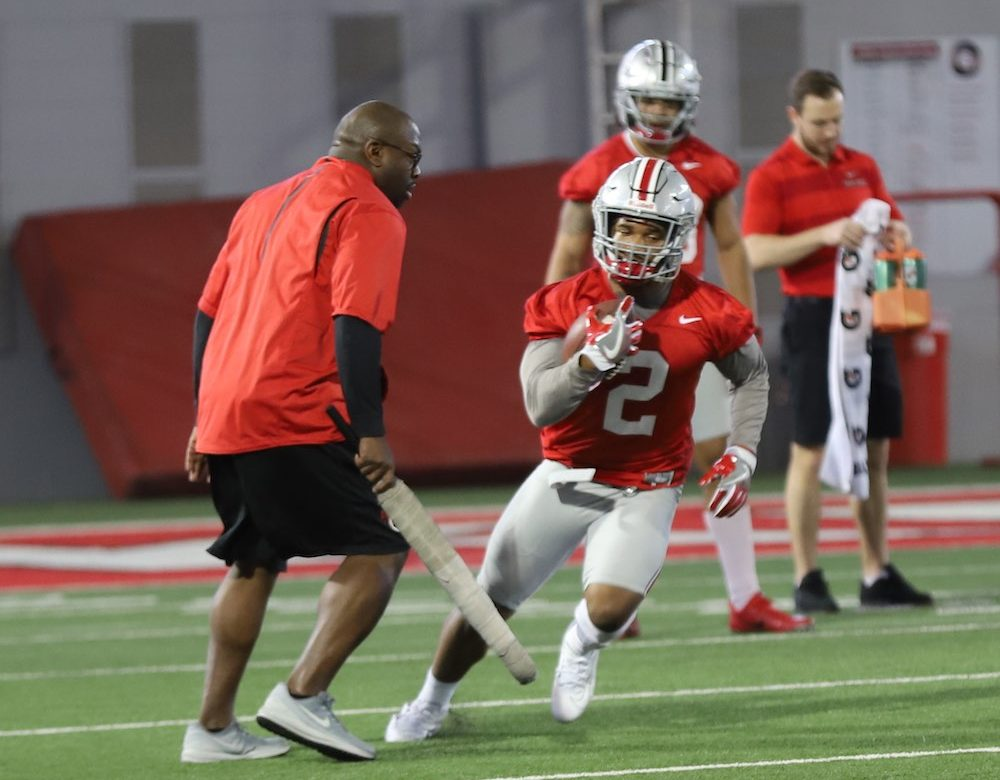 Ohio State Buckeyes football running back JK Dobbins