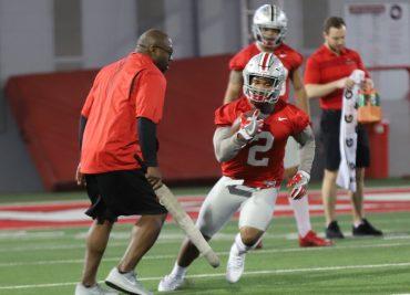 Ohio State Buckeyes football running back JK Dobbins