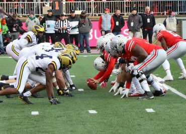 Ohio State Michigan The Game Football Buckeyes Wolverines Rivalry