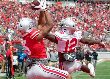 Sevyn Banks Garrett Wilson Ohio State Football Buckeyes