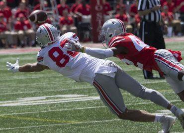 Ohio State football wide receiver Garyn Prater