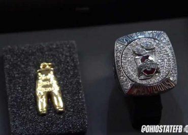 Ohio State Football Buckeyes Gold Pants Rings
