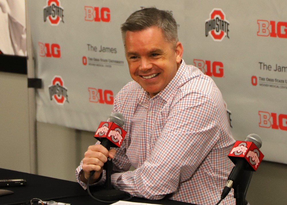 Ohio State Buckeyes Basketball Chris Holtmann Press Conference