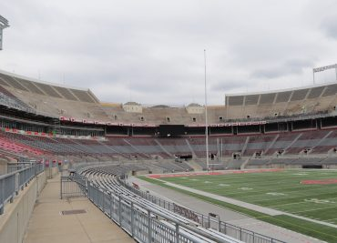 Ohio Stadium Construction C Deck 2019