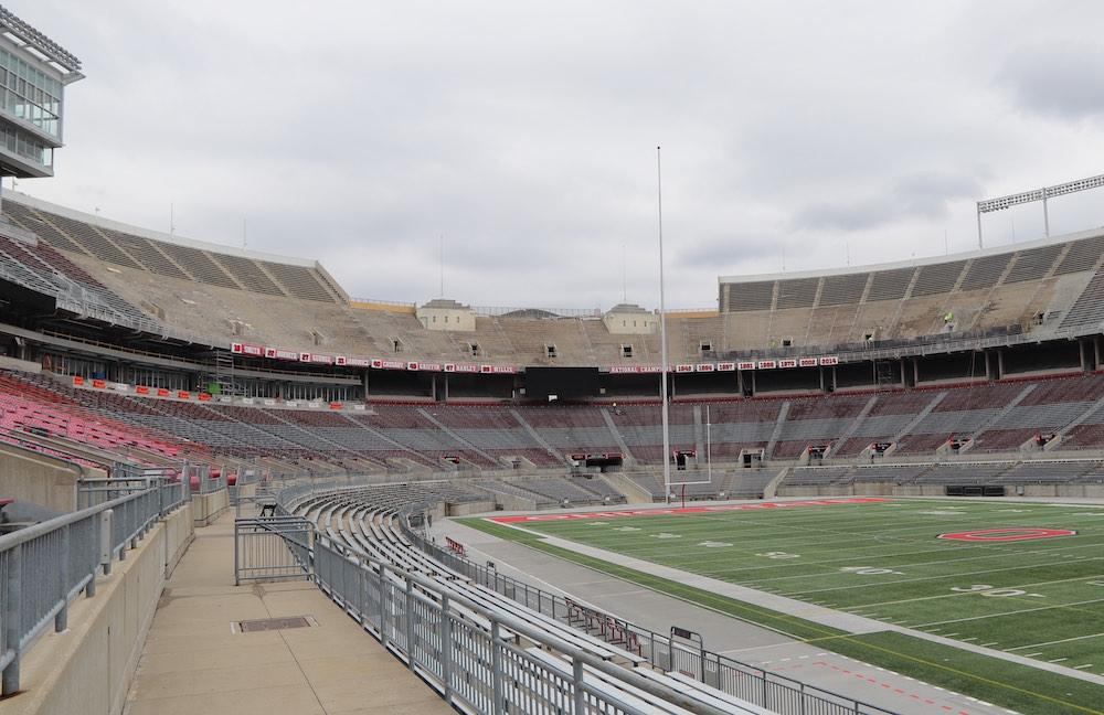 Ohio Stadium Construction C Deck 2019