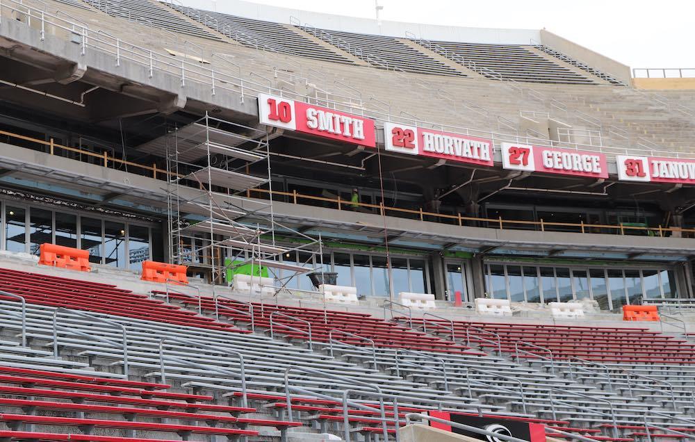 Ohio Stadium Construction Suites 2019