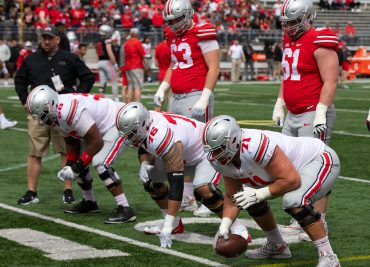 Ohio State Offensive Line Buckeyes