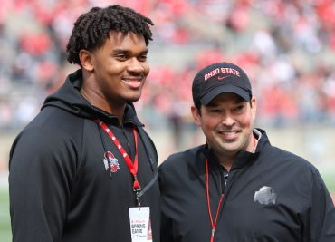 Ohio State football recruiting Paris Johnson Spring Game