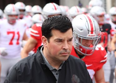 Ohio State football Buckeyes head coach Ryan Day