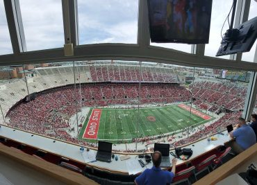 Ohio State Spring Game Crowd