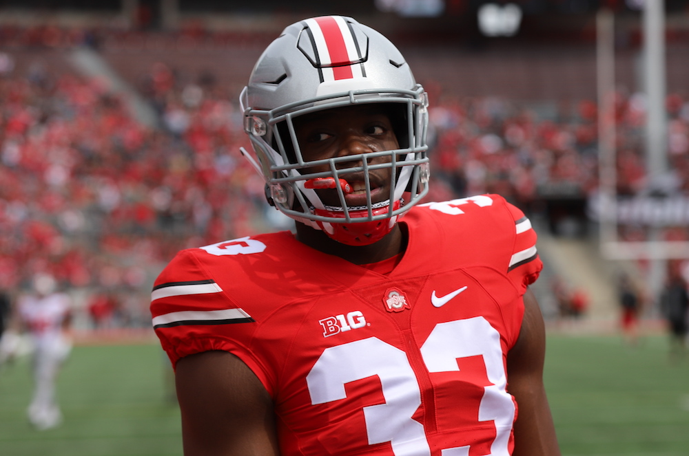 Zach Harrison Ohio State Buckeyes Defensive End