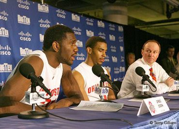 Greg Oden Mike Conley Thad Matta Ohio State Basketball Buckeyes