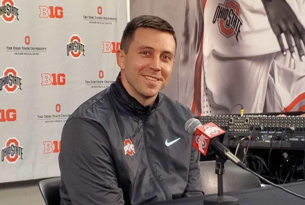 Jake Diebler Ohio State Basketball Buckeyes