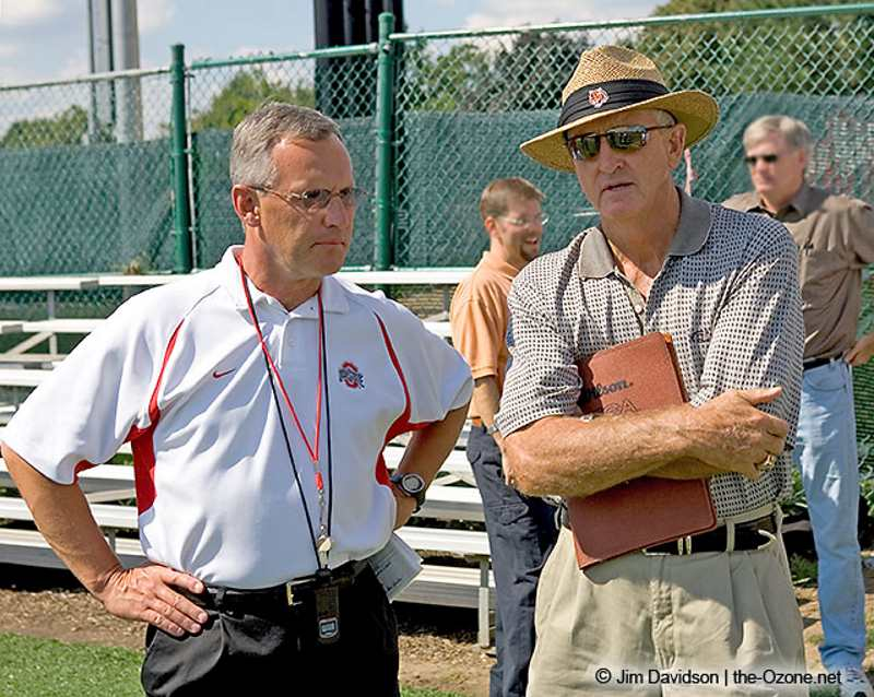 Jim Tressel Ohio State Buckeyes