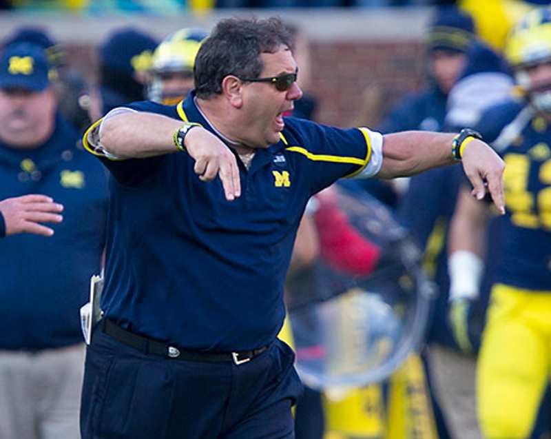 Brady Hoke Michigan Football