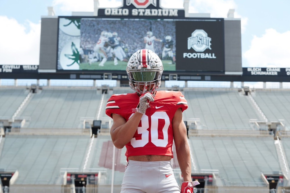 Four-star 2021 offensive tackle Ben Christman commits to Ohio State
