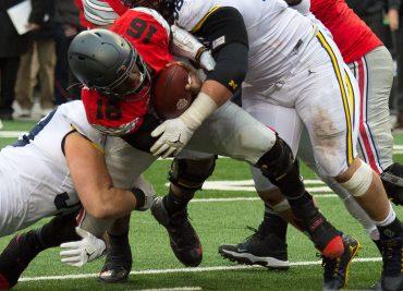 JT Barrett Ohio State Buckeyes Michigan