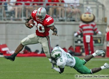 Ohio State football worst games 2004 Marshall Lydell Ross