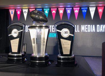 Big Ten football championship trophy