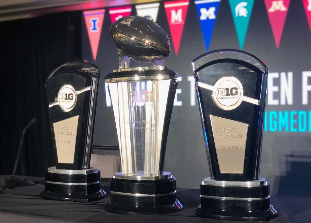 Big Ten football championship trophy B1G