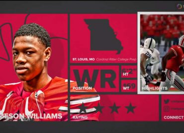 Jameson Williams Ohio State Buckeyes Receiver