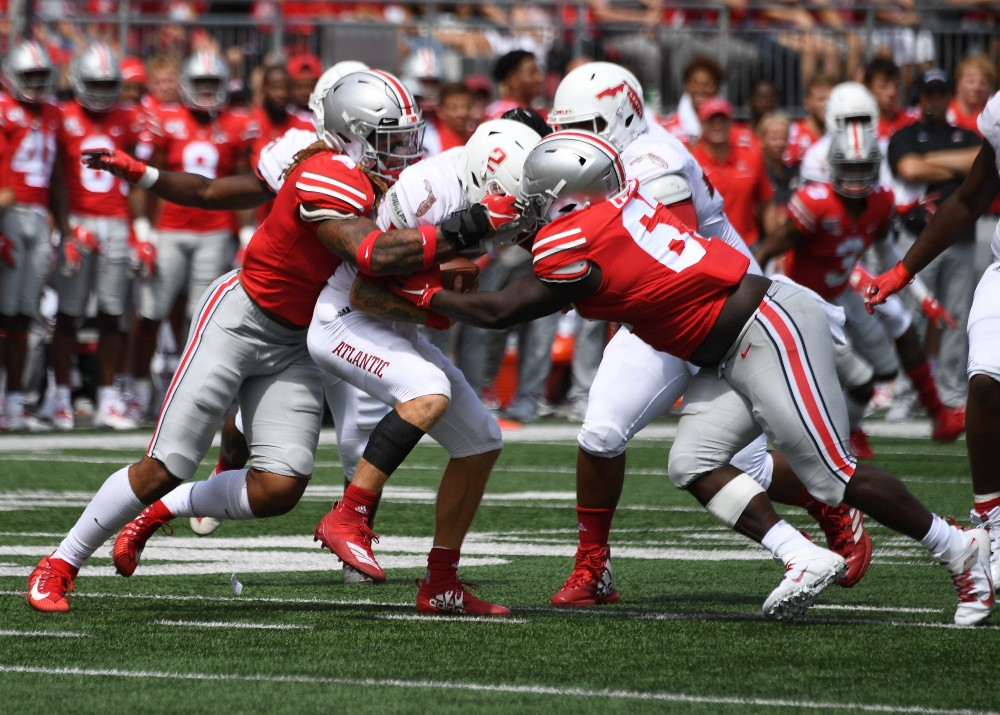 Ohio State football Chase Young Robert Landers