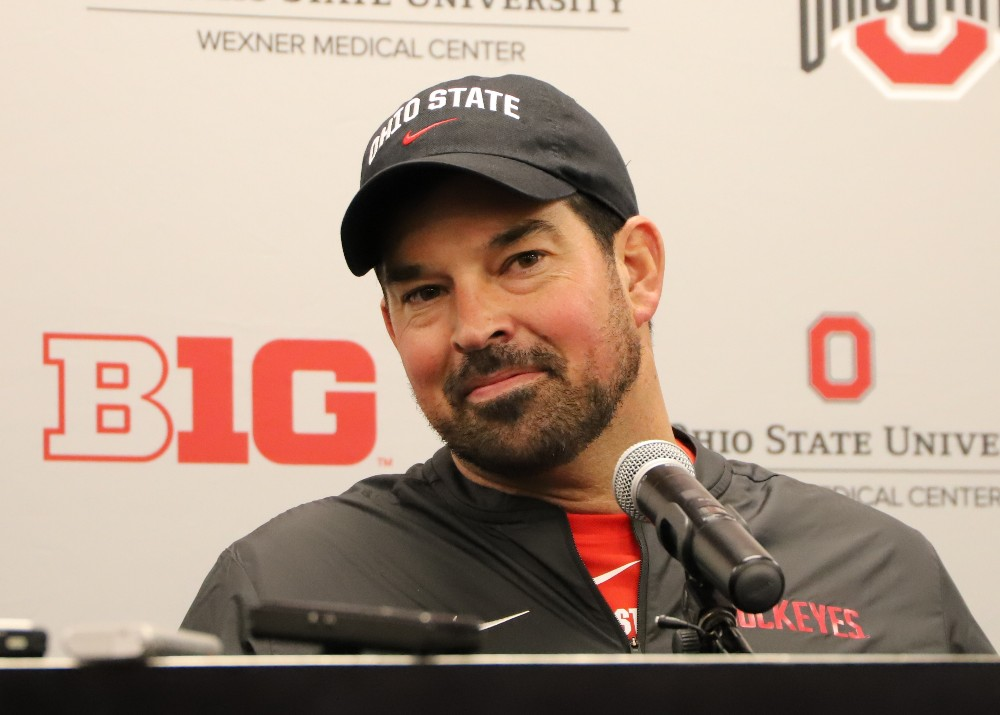 Ohio State football Ryan Day press conference interview